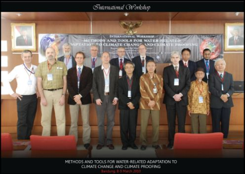Key participants of the Bandung Workshop