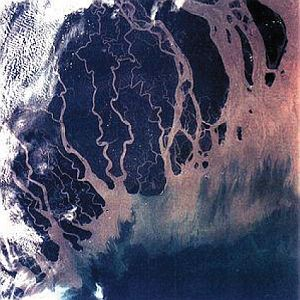 The Ganges–Brahmaputra Delta from space